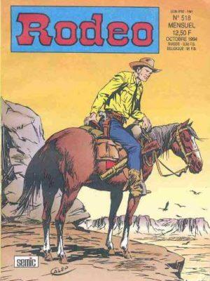 RODEO N°518 – TEX WILLER – Mort sur le fleuve (3e partie) LUG 1994