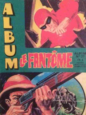 LE FANTOME Album 37 (N° 393-394-395-396-397-398) Remparts 1972