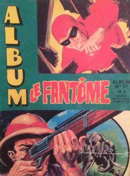 Le Fantôme Album 37 (contient les N°393-394-395-396-397-398) Remparts