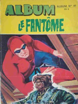 LE FANTOME Album 41 (N° 415-416-417-418) Remparts 1972
