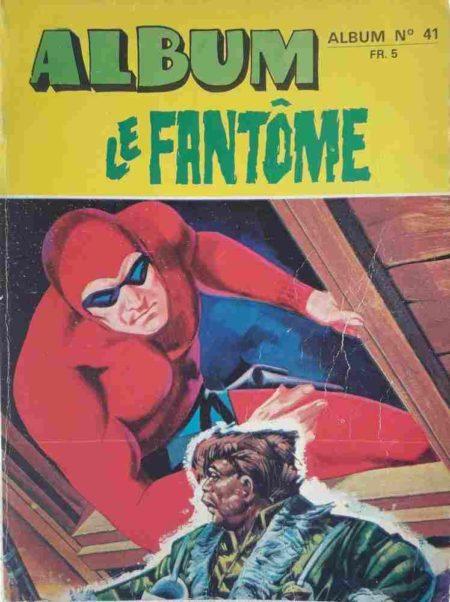 Le Fantôme Album 41 (N°415-416-417-418) Remparts 1972