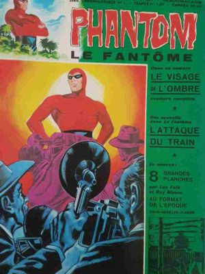 LE FANTOME N° 387 Le visage de l'Ombre – Remparts 1972
