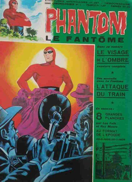 Le Fantôme N°387 Le visage de l'Ombre - Remparts 1972