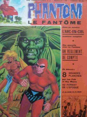 LE FANTOME N° 389 L'arc-en-ciel – Remparts 1972