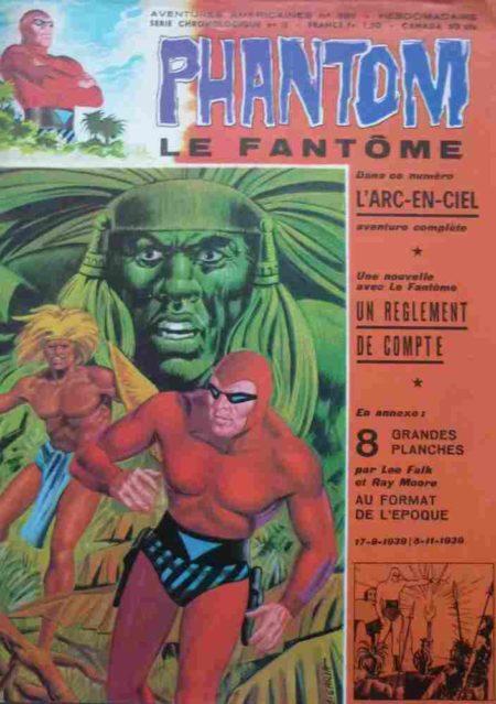 Le Fantôme N°389 L'arc-en-ciel - Remparts 1972