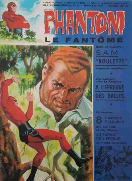 Le Fantôme N°390 Sam la Roulette - Remparts 1972