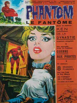 LE FANTOME N° 391 Ken de la Dynastie – Remparts 1972