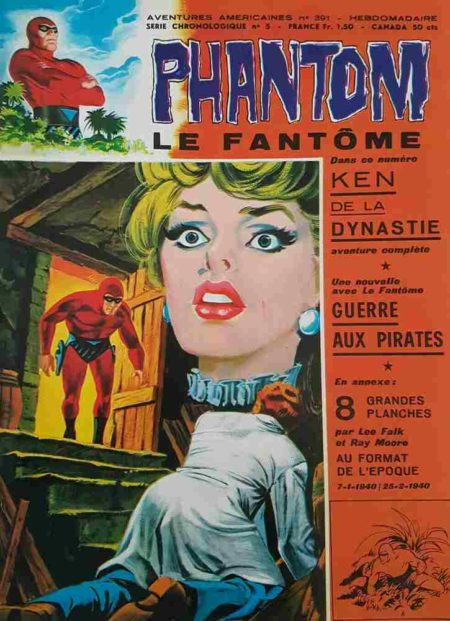 Le Fantôme N°391 Ken de la Dynastie - Remparts 1972
