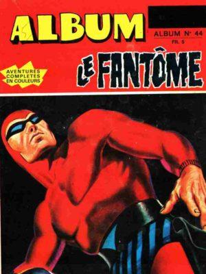 LE FANTOME Album 44 (N° 427-428-429) Remparts 1973