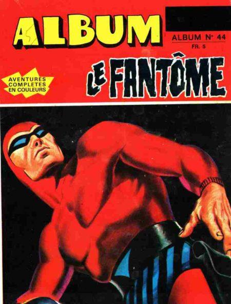 Le Fantôme - Phantom Album 44 (N°427-428-429) Remparts 1973