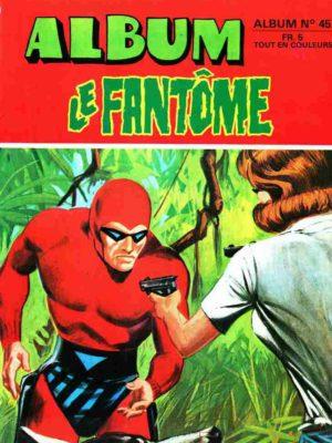 LE FANTOME Album 45 (N° 430-431-432) Remparts 1973