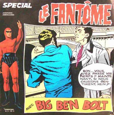 Le Fantôme (spécial) N°6 Le géant de Kaluga - Remparts 1976