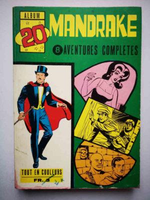 MANDRAKE ALBUM 20 (N°252-253-255-257-259-261-263-266) REMPARTS 1970