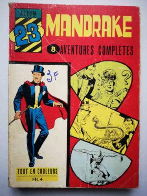 MANDRAKE ALBUM 23 (N°290-291-292-293-294-295) REMPARTS 1970