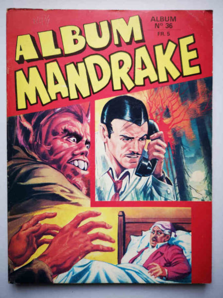 MANDRAKE ALBUM 36 (N°362-363-364-365-366) REMPARTS 1972