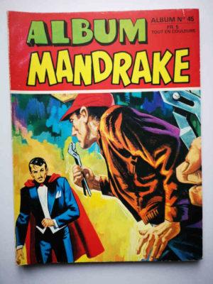 MANDRAKE ALBUM 45 (N°401-402) REMPARTS 1973