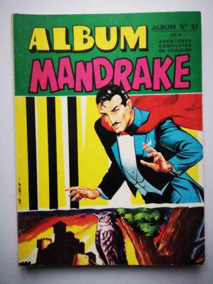 MANDRAKE ALBUM 51 (N°419-420) REMPARTS 1974