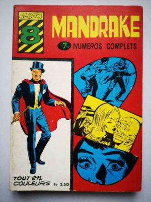 MANDRAKE ALBUM 8 (N°173-174-175-176-177-178-179) REMPARTS 1968