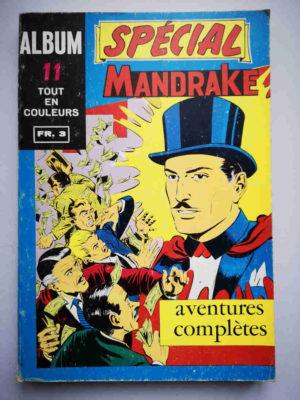 MANDRAKE SPECIAL ALBUM 11 (N°77-78-79) REMPARTS 1970
