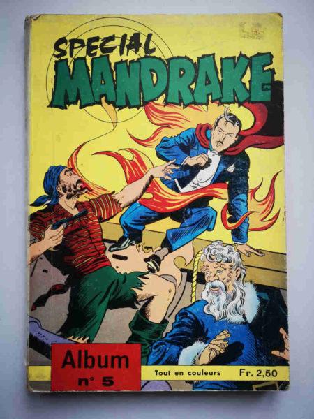 MANDRAKE SPECIAL ALBUM 5 (N°59-60-61) REMPARTS 1968