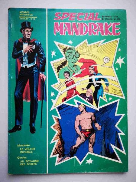 MANDRAKE SPECIAL N°82 Le voleur invisible - REMPARTS 1970