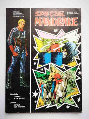 MANDRAKE SPECIAL N°89 Tyrans à la barre – REMPARTS 1971