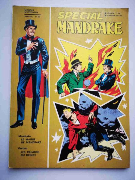 MANDRAKE SPECIAL N°90 Le maître de Mandrake - FLASH GORDON (Les pillards du désert) Editions des REMPARTS 1971