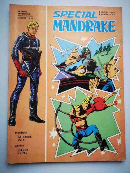 MANDRAKE SPECIAL N°93 La bande du 8 - REMPARTS 1971