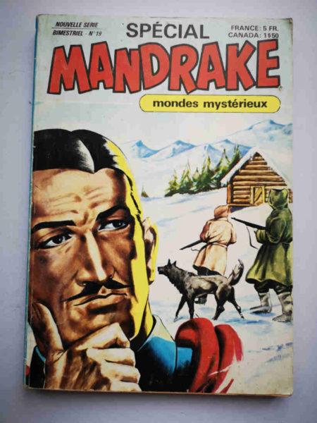 MANDRAKE SPECIAL NS N°19 Un hardi prétendant - REMPARTS 1979