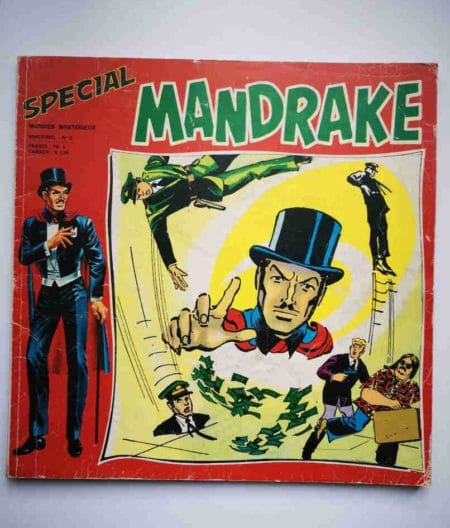 MANDRAKE SPECIAL NS N°5 Hold-Up magique - REMPARTS 1974