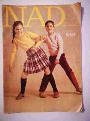 NADE N°1 (1969) Les jumelles et Marie-Pia (Janine Lay)