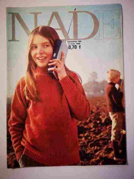 NADE N°360 (1968) Les jumelles - Un journal pas comme les autres