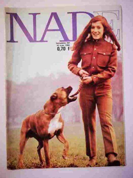 NADE N°361 (1968) Les jumelles - Un journal pas comme les autres (Janine Lay)