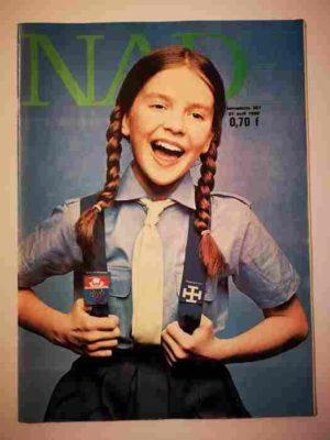 NADE N°367 (1968) Les jumelles – Un journal pas comme les autres (Janine Lay)