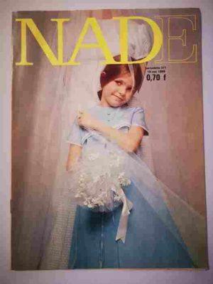 NADE N°371 (1968) Les jumelles – Un journal pas comme les autres (Janine Lay)