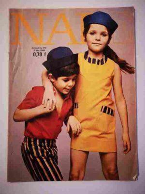 NADE N°373 (1968) Les jumelles – Un cheval de couleur verte (Janine Lay)