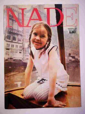 NADE N°375 (1968) Les jumelles – Un cheval de couleur verte (Janine Lay)