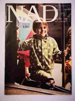 NADE N°377 (1968) Les jumelles – Un cheval de couleur verte (Janine Lay)
