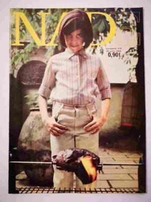 NADE N°378 (1968) Les jumelles – Un cheval de couleur verte (Janine Lay)