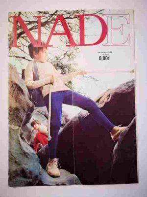 NADE N°382 (1968) Les jumelles contre Annibal (Janine Lay)