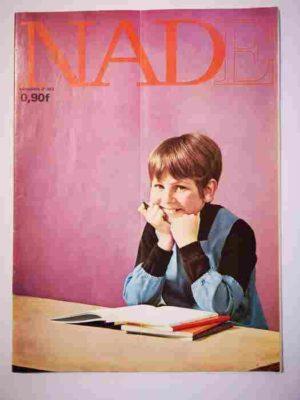 NADE N°383 (1968) Les jumelles contre Annibal (Janine Lay)