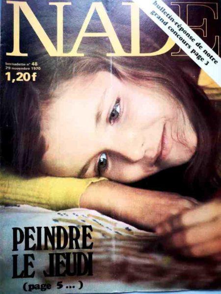 NADE N°48(1970) Les jumelles - Le Fennec court toujours (Janine Lay)