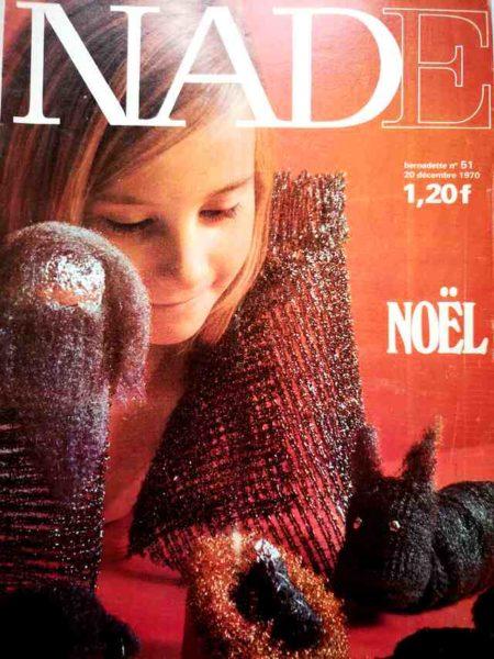 NADE N°51(1970) Les jumelles - Le Fennec court toujours (Janine Lay)