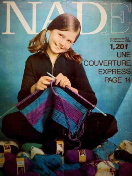 NADE N°52(1970) Les jumelles - Le Fennec court toujours (Janine Lay)