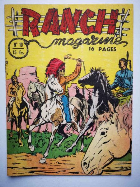 Ranch Magazine (Tom Bill) N°10 La charge rouge - SAGE 1950