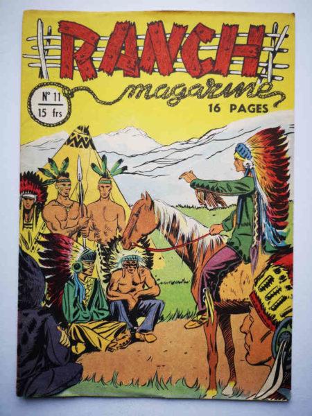 Ranch Magazine (Tom Bill) N°11Patte de puma - SAGE 1950
