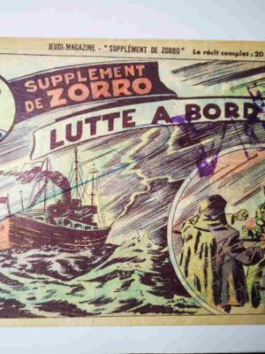 Supplément de Zorro N°68 – Sergent O'Brien – Lutte à bord (Jean Pape)