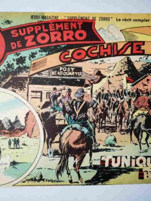Supplément de Zorro N°99 – Tuniques Bleues (Pierre Le Goff) – SNPI 1952
