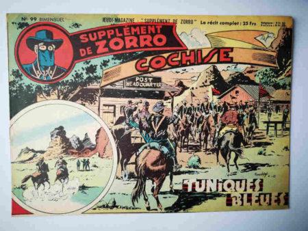 Supplément de Zorro N°99 - Tuniques Bleues (Le Goff) Chapelle 1952