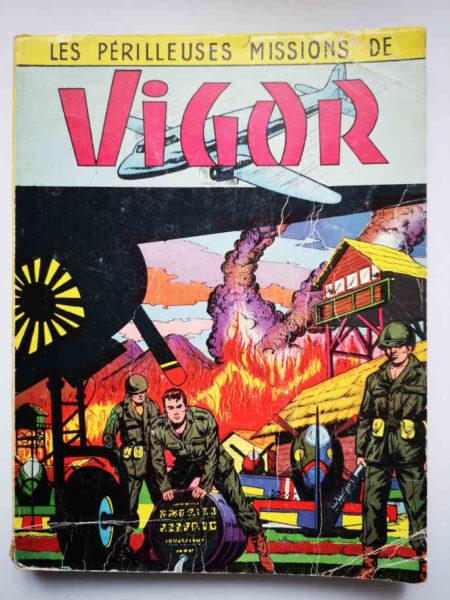 VIGOR ALBUM (N°35-36-37-38-39-40) Bob Corton - Giordan - ARTIMA 1956